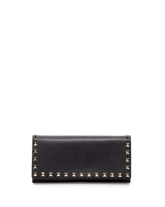 Rockstud Wallet-on-Chain, Black