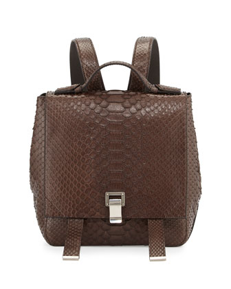 PS Courier Small Python Backpack, Pepe