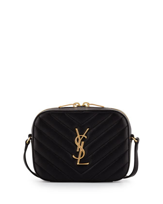 Monogramme Small Chevron Crossbody, Black