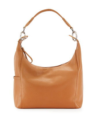Le Foul Small Hobo Bag, Natural