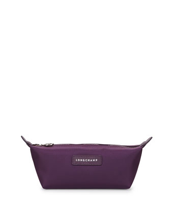 Le Pliage Small Nylon Pouch, Bilberry
