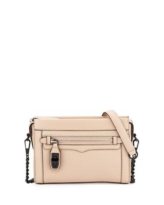 Crosby Mini Crossbody Bag, Latte