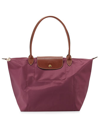 Le Pliage Large Shoulder Tote Bag, Fig