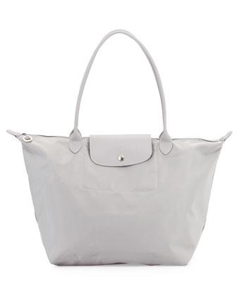 Le Pliage Neo Large Shoulder Tote Bag, Pebble