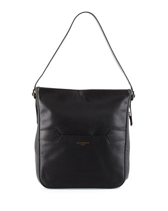 Longchamp 2.0 Hobo Bag, Black