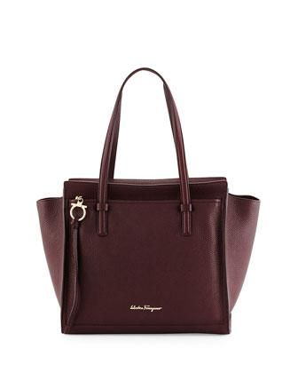 Amy Gancini Medium Tote Bag, Rouge Noir