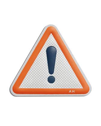 Warning ! Sticker for Handbag