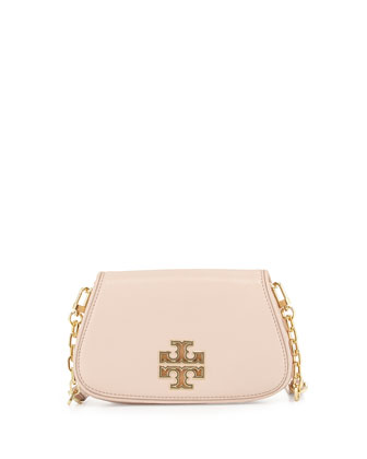 Britten Mini Crossbody Bag, Light Oak