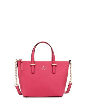cedar street harmony crossbody bag, sweetheart pink