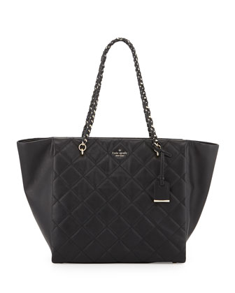 emerson place francelle tote bag, black