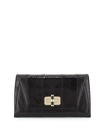 440 Gallery Uptown Clutch Bag, Black