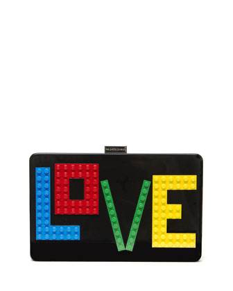 Andy Rainbow Love Clutch Bag