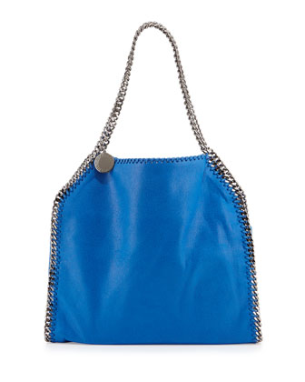 Falabella Small Tote Bag, Blue