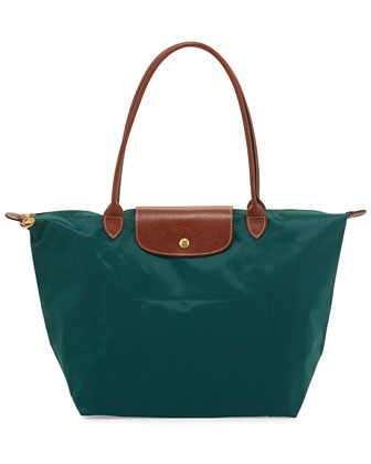 Le Pliage Large Shoulder Tote Bag, Cedar