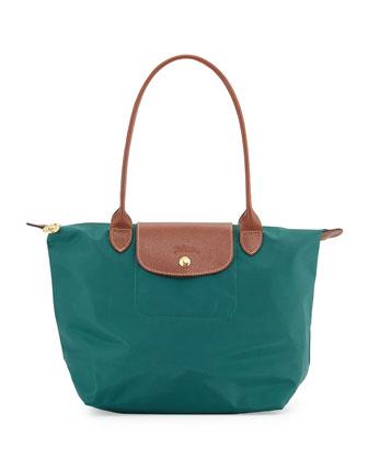 Le Pliage Medium Shoulder Tote Bag, Cedar