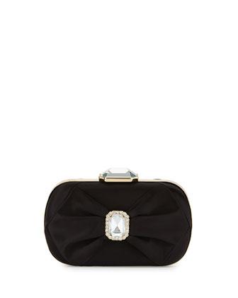 Arielle Evening Clutch Bag, Black
