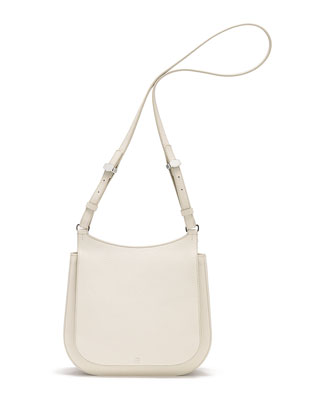 Hunting 11 Leather Crossbody Bag, Cream