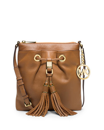Camden Drawstring Crossbody Bag, Luggage