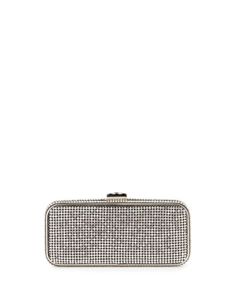 Susan Crystal Evening Clutch Bag, Smoke