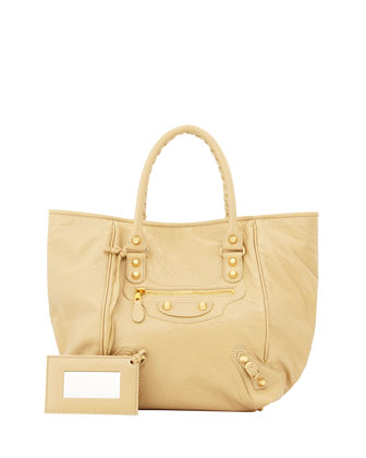 Giant 12 Golden Sunday Tote Bag, Beige