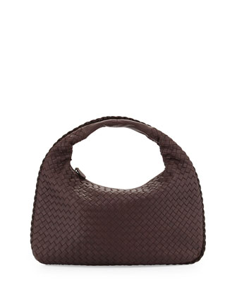 Medium Sac Hobo Bag, Dark Brown