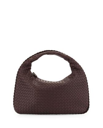 Medium Sac Hobo Bag, Dark Brown