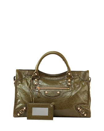 Giant 12 Golden City Bag, Olive Green