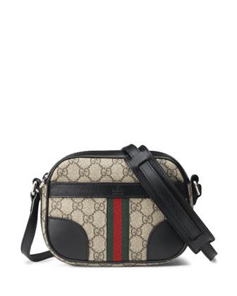 GG Supreme Canvas Shoulder Bag