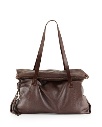 Lady Amazone Medium Fold-Over Tote Bag