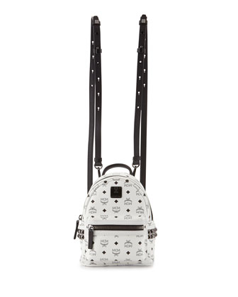 Stark Side Stud Backpack X-Mini, White
