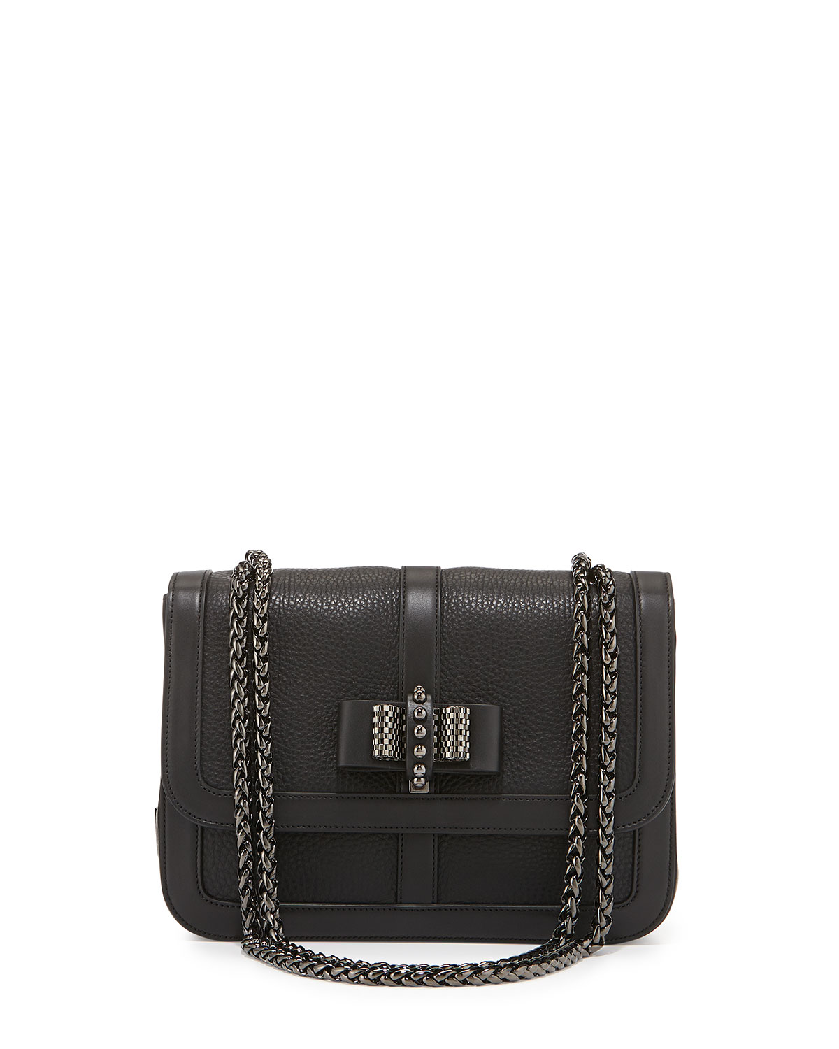 Sweet Charity Small Shoulder Bag, Black - Christian Louboutin