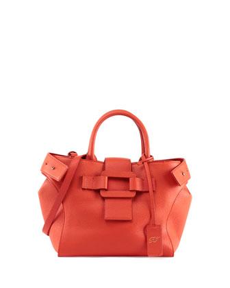 Pilgrim de Jour Small Shopping Tote Bag, Dark Orange