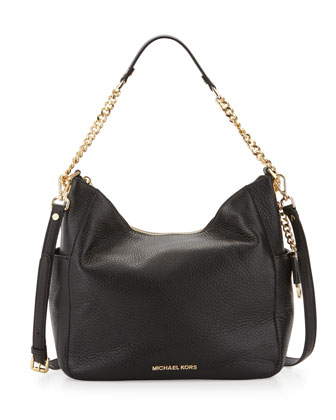 Chandler Large Convertible Shoulder Bag, Black