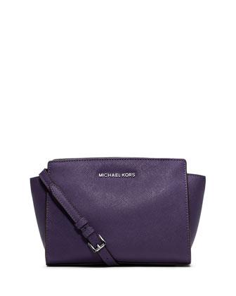 Selma Medium Messenger Bag, Iris
