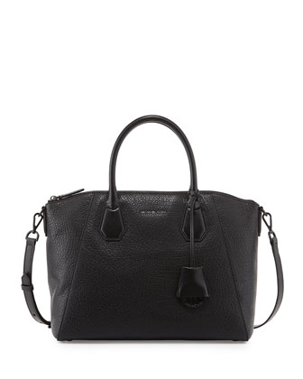 Campbell Large Satchel Bag, Black