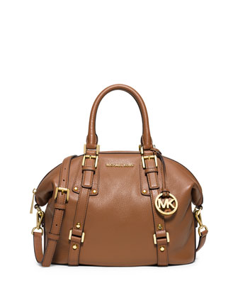 Bedford Belted Medium Satchel Bag, Luggage