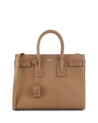 Sac de Jour Small Satchel Bag, Taupe