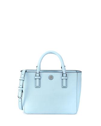 Robinson Mini Square Tote Bag, Iceberg Blue