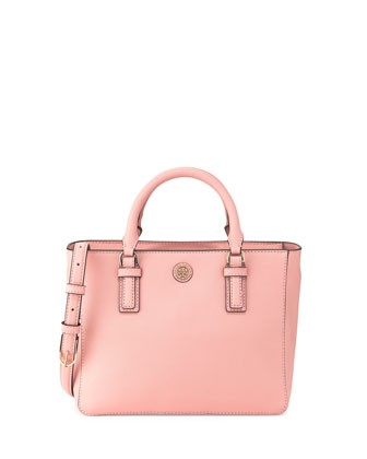 Robinson Mini Square Tote Bag, Rose Pink