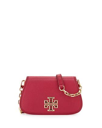 Britten Mini Crossbody Bag, Raspberry