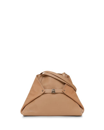 Ai Small Cervo Tote Bag, Camel