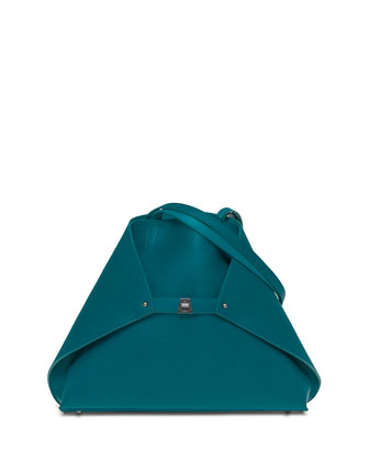 Ai Reversible Medium Cervo Tote Bag, Deep Petrol