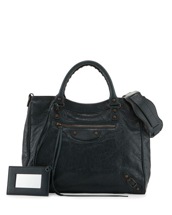 Classic Velo Lambskin Crossbody Bag, Green