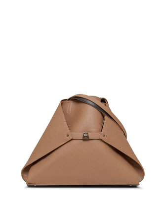 Ai Reversible Medium Cervo Tote Bag, Camel/Mocca