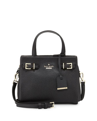 holden street small lanie satchel bag, black