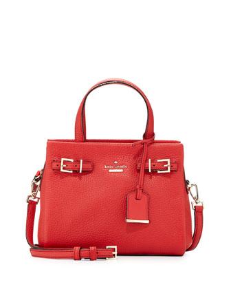 holden street small lanie satchel bag, cherry tomato