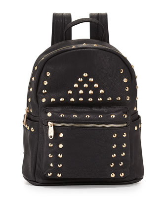 Phantom Studded Backpack, Black