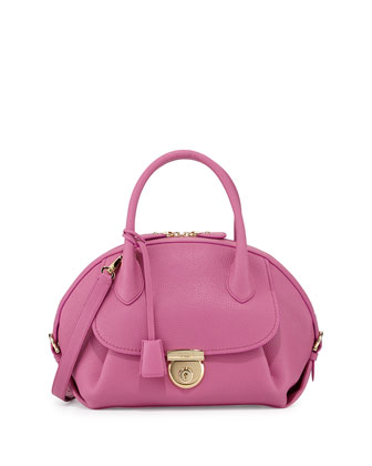 Fiamma Ornament Lock Satchel Bag, Anemone