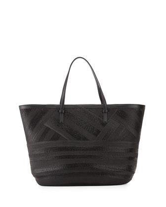 Croisette Mare Tote Bag, Nero