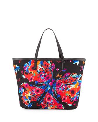 Croisette Mare Printed Tote Bag, Multicolor
